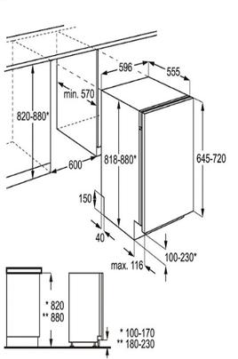 lave vaisselle encastrable electrolux esl6356lo 4052544. Black Bedroom Furniture Sets. Home Design Ideas