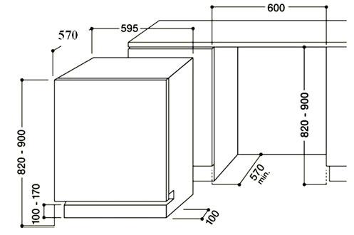 lave vaisselle encastrable hotpoint lfta 2164a full. Black Bedroom Furniture Sets. Home Design Ideas