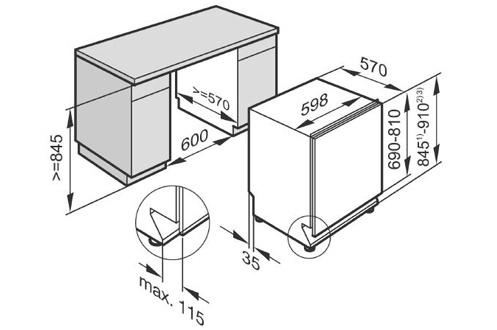 lave vaisselle encastrable miele g6365 scvi xxl full g6365 scvi xxl 3799247. Black Bedroom Furniture Sets. Home Design Ideas