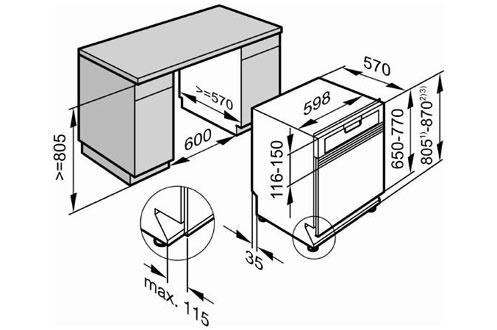 Встраиваемая посудомоечная машина Miele G 5985 SCVi XXL.