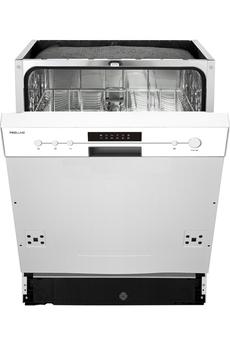 Lave vaisselle encastrable DWIP 49 WH Proline