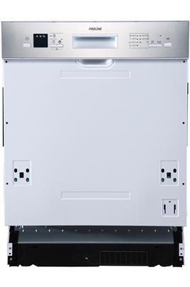 Classe énergétique A++ Consommation d'eau : 3080 l/an 12 couverts - Niveau sonore : 47 dB bandeaux noir, inox et blanc inclus
