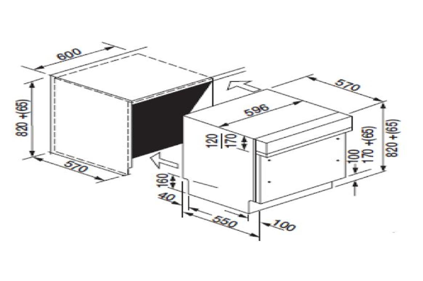 lave vaisselle encastrable rosieres rli1d63x inox 4222202. Black Bedroom Furniture Sets. Home Design Ideas