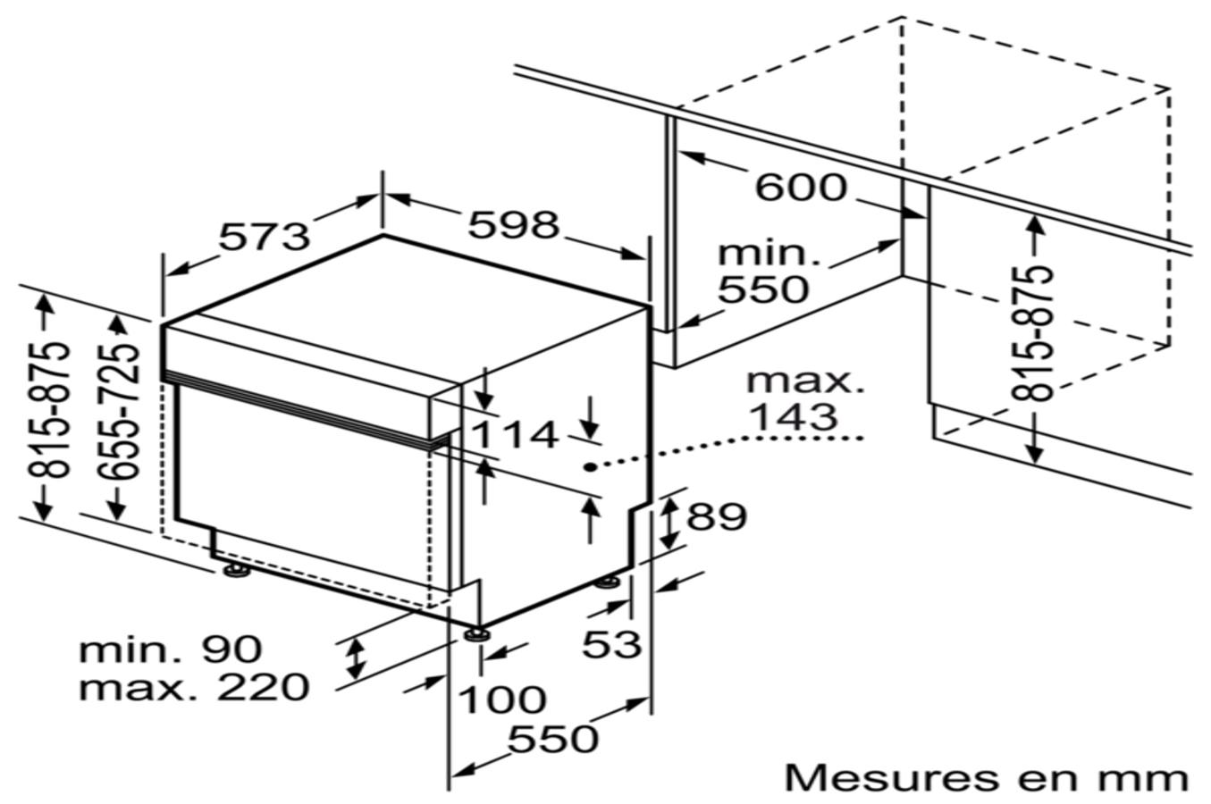lave vaisselle encastrable siemens sn558s16te inox. Black Bedroom Furniture Sets. Home Design Ideas