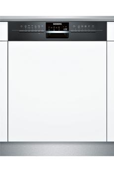 Lave vaisselle encastrable SN56N697EU NOIR Siemens
