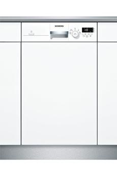 Lave vaisselle siemens sr515w03ce blanc