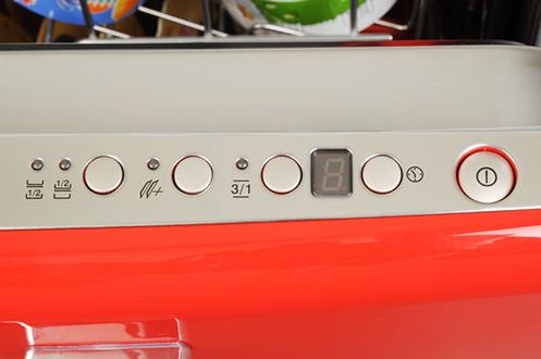 lave vaisselle encastrable smeg st1fabr rouge 3087107. Black Bedroom Furniture Sets. Home Design Ideas