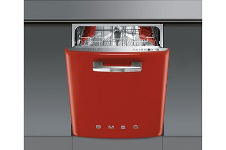 lave vaisselle encastrable smeg st1fabr rouge darty. Black Bedroom Furniture Sets. Home Design Ideas