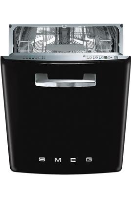 Classe énergétique A+++ Consommation d'eau : 2380 l / an 13 couverts - Niveau sonore : 43 dB Porte galbée noire avec poignée chromée