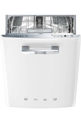 Classe énergétique A+++ Consommation d'eau : 2380 l / an 13 couverts - Niveau sonore : 43 dB Porte galbée blanche avec poignée chromée