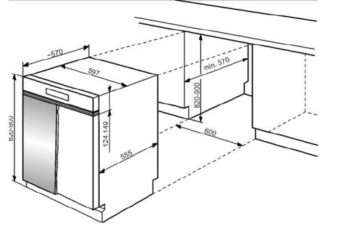 Lave vaisselle encastrable whirlpool adg4820fd full - Lave vaisselle petite largeur encastrable ...