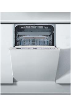 Lave vaisselle encastrable ADG522X Whirlpool