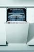 Lave vaisselle encastrable ADG562X Whirlpool