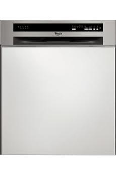 Lave vaisselle encastrable ADG8720IX INOX Whirlpool