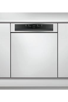 Lave vaisselle encastrable WBC3C26X Whirlpool