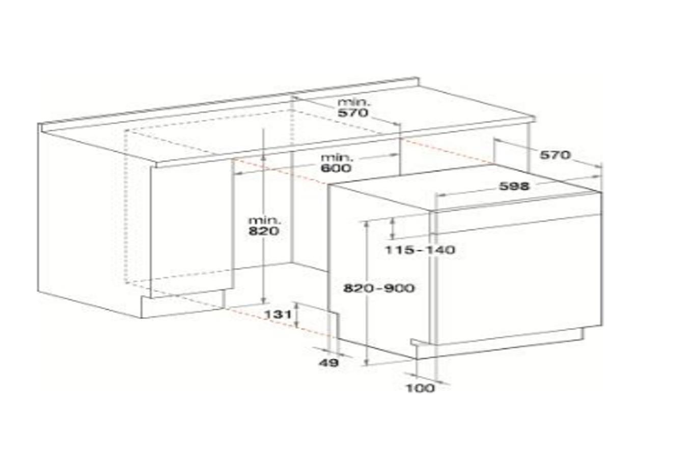 lave vaisselle encastrable whirlpool wbo3p23pli 4314808 darty. Black Bedroom Furniture Sets. Home Design Ideas