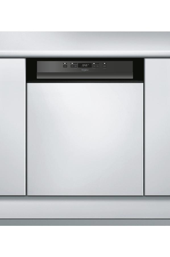 Lave vaisselle encastrable whirlpool wkbc3c24pb noir 4225139 darty - Lave vaisselle noir encastrable ...