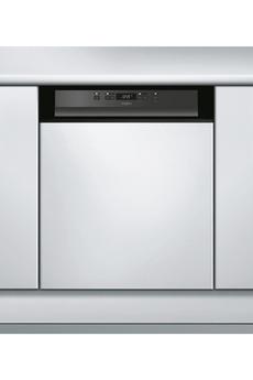 Lave vaisselle encastrable whirlpool wkbc3c24pb noir