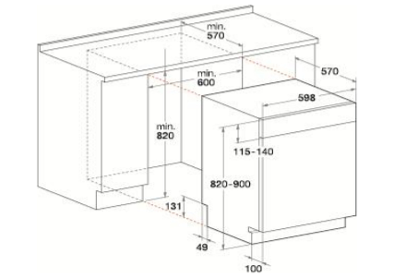 lave vaisselle encastrable whirlpool wkbc3c24px inox 4234863 darty. Black Bedroom Furniture Sets. Home Design Ideas