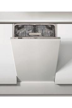 Lave vaisselle whirlpool 45cm wsio3t223pex