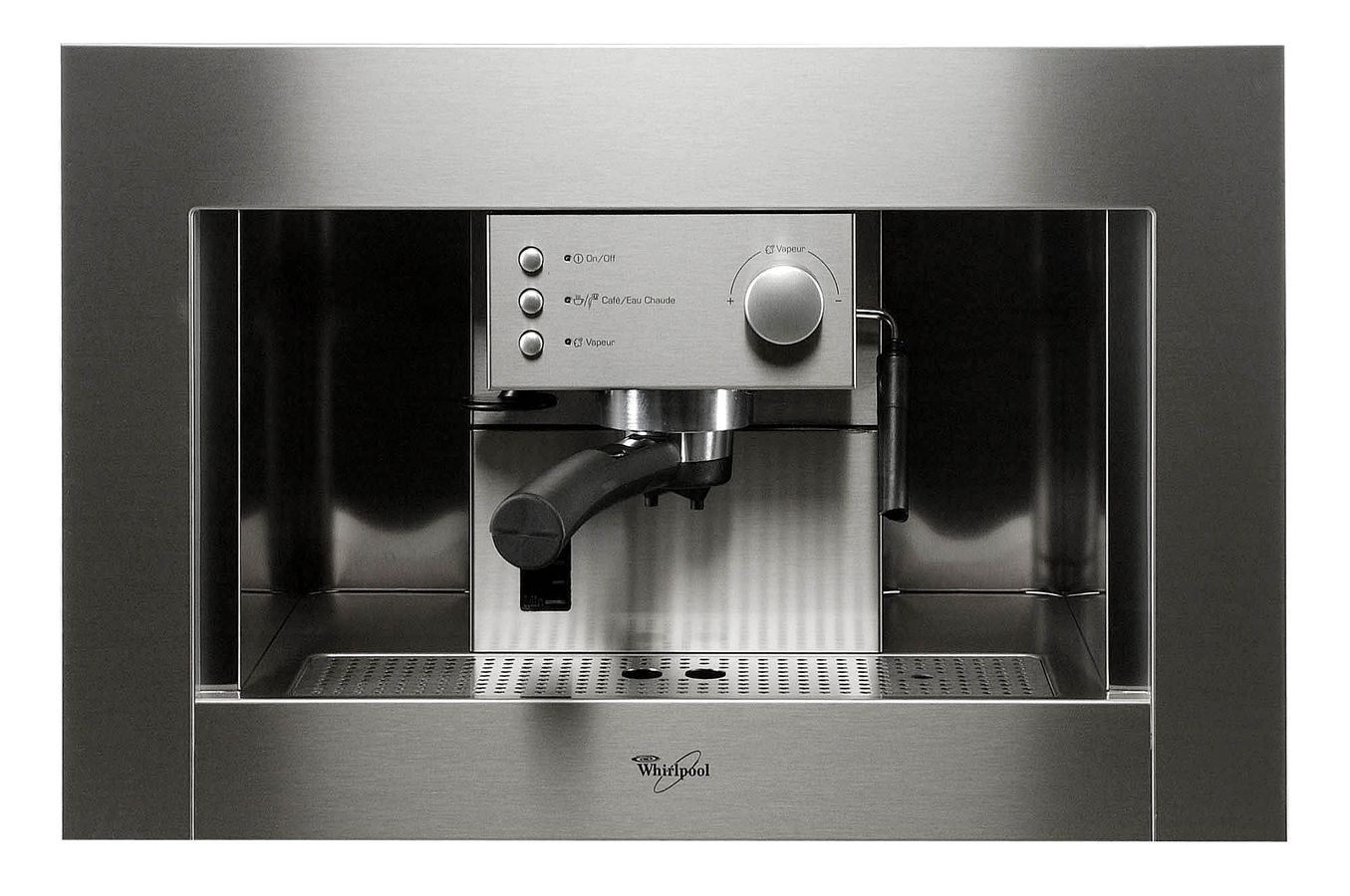 nav achat encastrable micro ondes expresso machine cafe whirlpool ace  ix inox