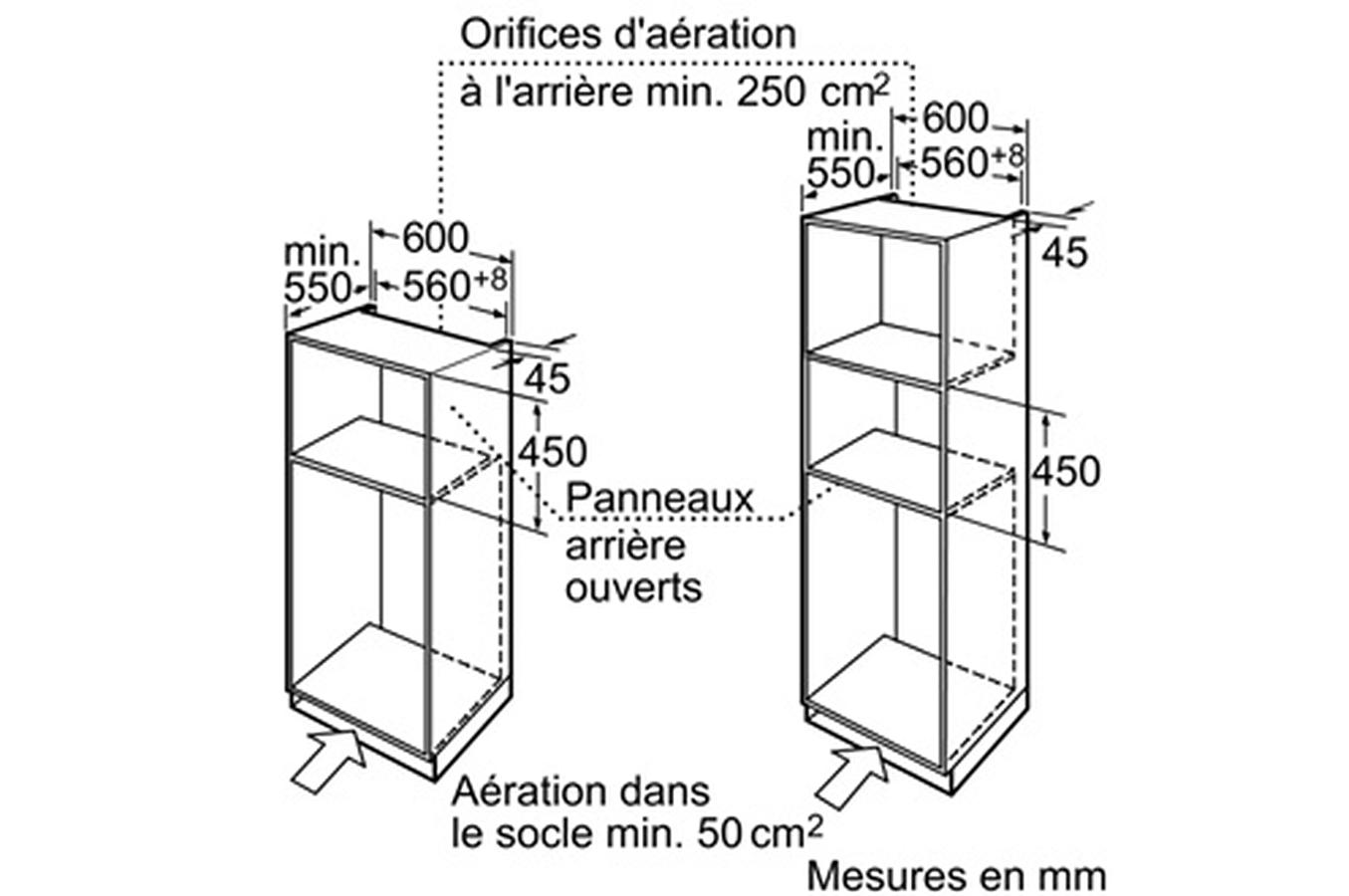 micro ondes encastrable bosch hmt35m653 3191982 darty. Black Bedroom Furniture Sets. Home Design Ideas