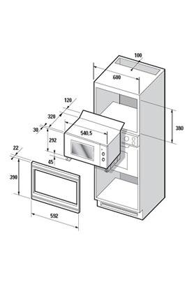 hauteur micro onde trouvez le meilleur prix sur voir avant d 39 acheter. Black Bedroom Furniture Sets. Home Design Ideas