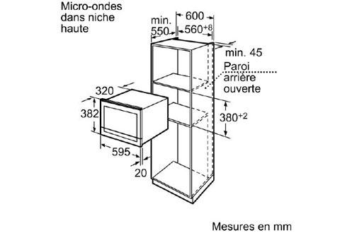 micro ondes encastrable siemens hf25m6l2 2877619. Black Bedroom Furniture Sets. Home Design Ideas