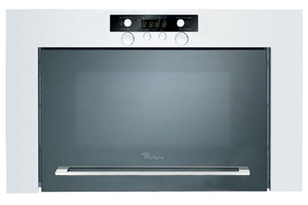 Micro ondes encastrable whirlpool amw 476 wh blanc darty for Micro onde encastrable miroir
