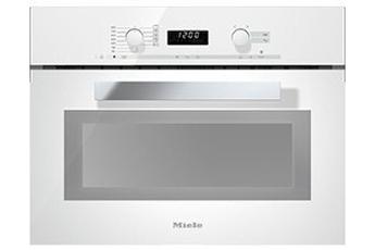 Micro ondes gril encastrable M 6262 TC BLANC Miele