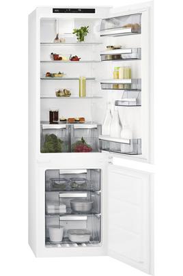Volume 253 L - Classe A+ (291 kWh/an) Réfrigérateur froid brassé - Congélateur froid ventilé Hauteur 177,2 cm (niche 177,2 à 178 cm) Fixation de l'habillage sur glissières