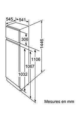 refrigerateur congelateur encastrable bosch kid26v21ie 1583700. Black Bedroom Furniture Sets. Home Design Ideas