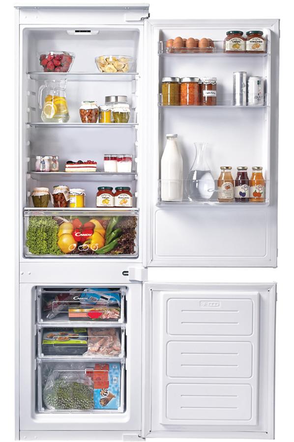 refrigerateur congelateur encastrable candy ckbbs100. Black Bedroom Furniture Sets. Home Design Ideas