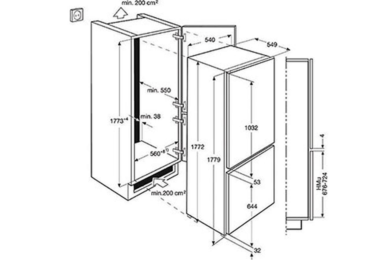 Refrigerateur congelateur encastrable electrolux enn2871yow darty - Refrigerateur encastrable darty ...