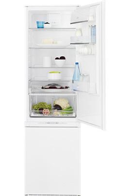 Volume 292 L - Classe A+ (311 kWh/an) Réfrigérateur brassé - Congélateur ventilé Hauteur 184,2 cm (niche 184,5 à 185 cm) Fixation de l'habillage sur glissières