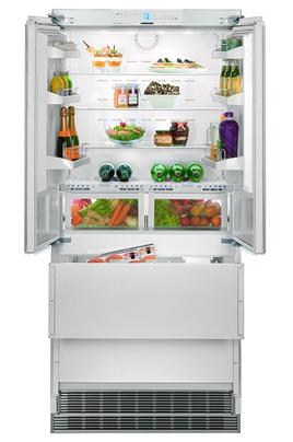 Volume 471 L - Dimensions HxLxP : 203.2x91.5x62.5 cm - A++ Réfrigérateur à froid brassé 357 L Congélateur à froid ventilé 114 L Fabrique à glaçons - Contrôle électronique avec affichage digital