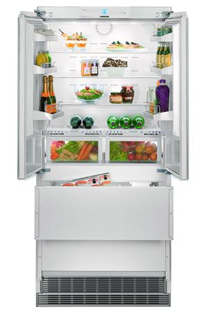 refrigerateur congelateur en bas liebherr ecbn  darty