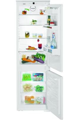 Volume net : 274 L - Classe A++ (224 kWh/an) Réfrigérateur PowerCooling - Congélateur Smart Frost Hauteur 177 cm (niche 177 à 178,8 cm) Fixation de l'habillage sur glissières