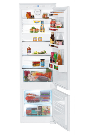 refrigerateur congelateur encastrable liebherr ics 3214 darty. Black Bedroom Furniture Sets. Home Design Ideas