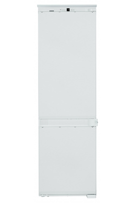 Réfrigérateur brassé - Congélateur Smart Frost Volume 274 L - Classe A++ (224 kWh/an) Hauteur 178 cm (niche 178.1 à 178.8 cm) Fixation de l'habillage sur glissières