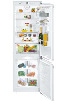 Refrigerateur congelateur encastrable SICN3386 Liebherr