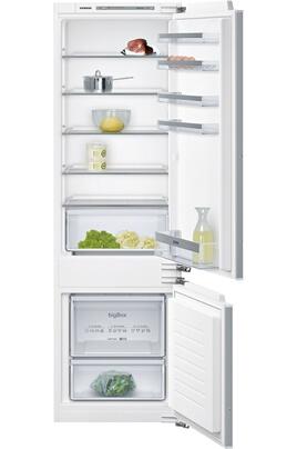 Volume 272 litres - Dimensions (HxLxP) : 177.2 x 54.1 x 54.5 cm Réfrigérateur à froid statique 209 litres Congélateur à froid statique 63 litres Fixation de porte à pantographe