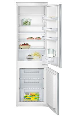 Volume 274 L - Classe A+ (281 kWh/an) Réfrigérateur statique - Congélateur statique Hauteur 177,2 cm (niche 177,2 à 178 cm) Fixation de l'habillage sur glissières