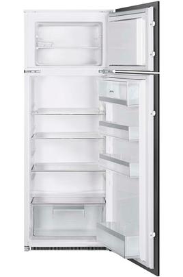 Volume 224 L - Classe A++(199 kWh/an) Réfrigérateur froid statique - Congélateur statique Hauteur 144.2 cm (niche 144.8 cm) Fixation de l'habillage sur glissières