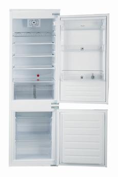 Volume 275 L - Classe A++ (235 kWh/n) Réfrigérateur brassé - Congélateur statique Hauteur 177 cm (niche 177,6 à 178,6 cm) Fixations de l'habillage sur glissières
