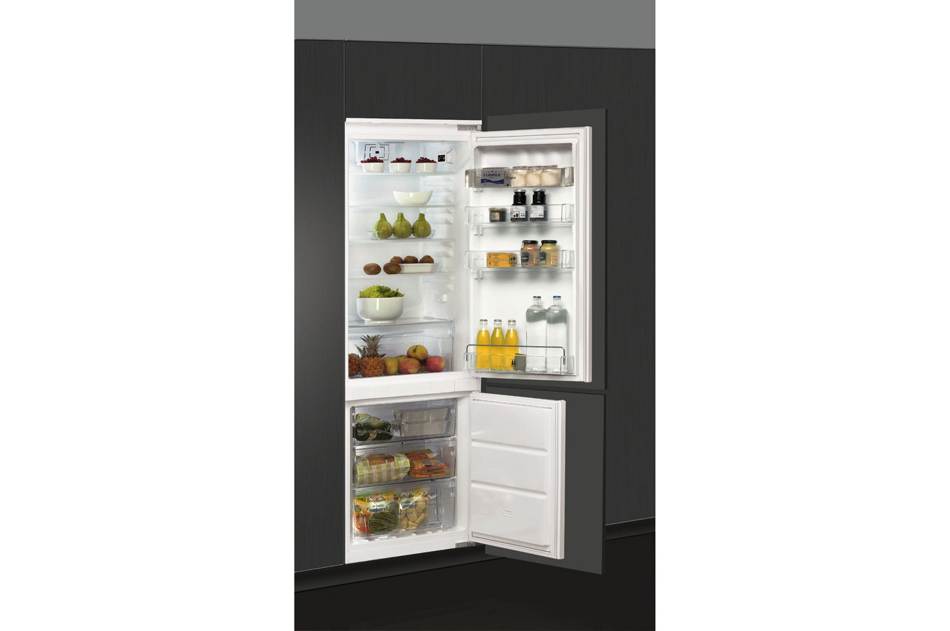 refrigerateur congelateur encastrable froid ventile. Black Bedroom Furniture Sets. Home Design Ideas