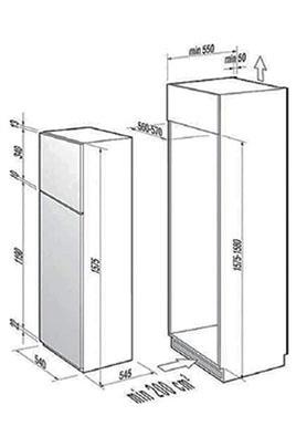 Refrigerateur congelateur encastrable de dietrich drd1127j 3438627 - Refrigerateur encastrable de dietrich ...