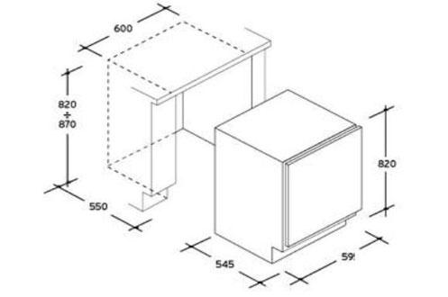 refrigerateur encastrable candy cru 160 e 3576868. Black Bedroom Furniture Sets. Home Design Ideas