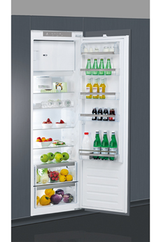 Volume 292 L - Dimensions HxLP : 177.1x54x54.5 cm - A++ Réfrigérateur à froid brassé 262 L Congélateur à froid statique 30 L Fixation de l'habillage sur glissières