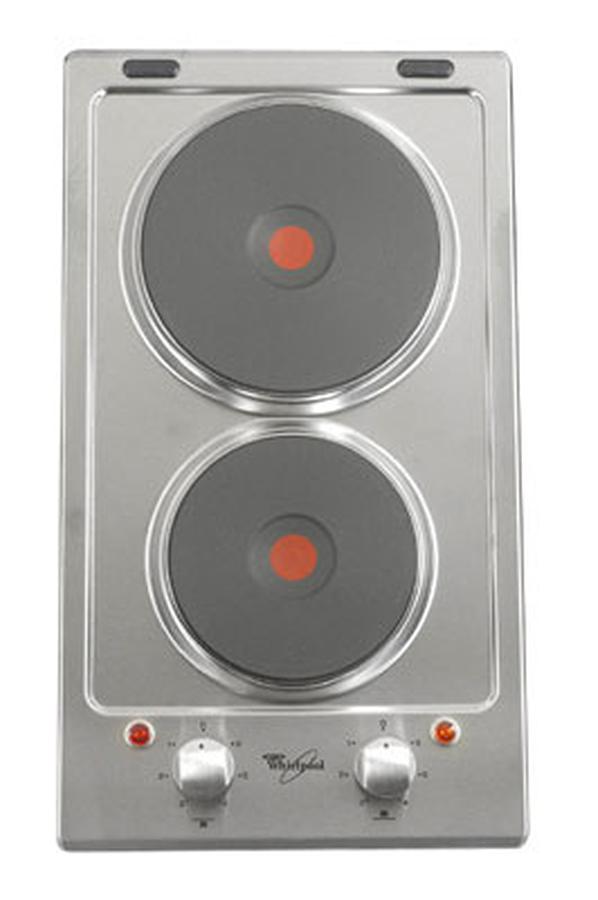 Plaque lectrique whirlpool akt 310 ix inox akt310ix 2030560 darty - Darty plaques electriques ...